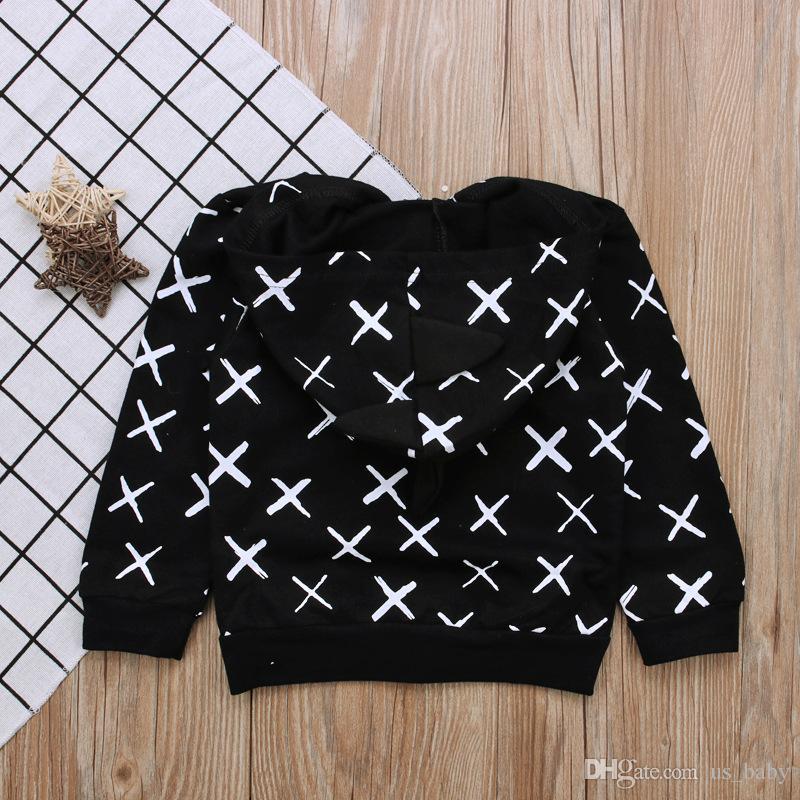 Baby Boys Dinosaur style Coat Kids black animal casaco infant Spring Autumn hooded jacket Long Sleeve outwear