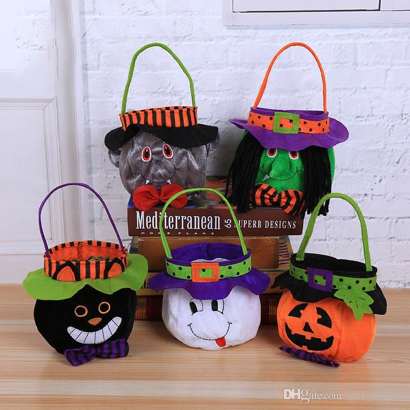 Großhandel Günstige Halloween Leckereien Taschen Diy Festival Party