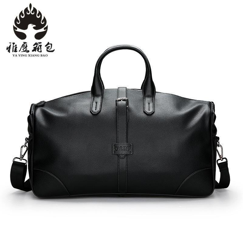 a69a908d673e Male Travel Bag Men S Genuine Leather Shoulder Bag Vintage Duffle Handbag  Large Capacity Crossbody Bags Daily Life Tote Toiletry Bags Best Gym Bags  From ...