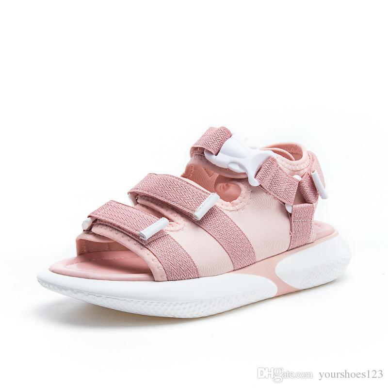 aede192aae 2018 New Fashion Summer Women Flat Sandals Platform Heel Gladiator Leisure  Cool Shoes Student Comfortable Breathable Sports Sandals Jelly Sandals  Platform ...