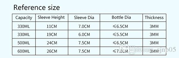 Colorful Neoprene Protection Insulation Can Beer Bottle Cooler Sleeve Holder Soft Soda Beer Cola Can Bottle Drink Covers