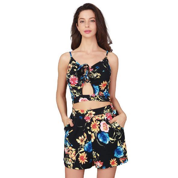 Vêtements Sexy Deux Ensembles Imprimées De Jupe Jarretelles Acheter nXqaw0n