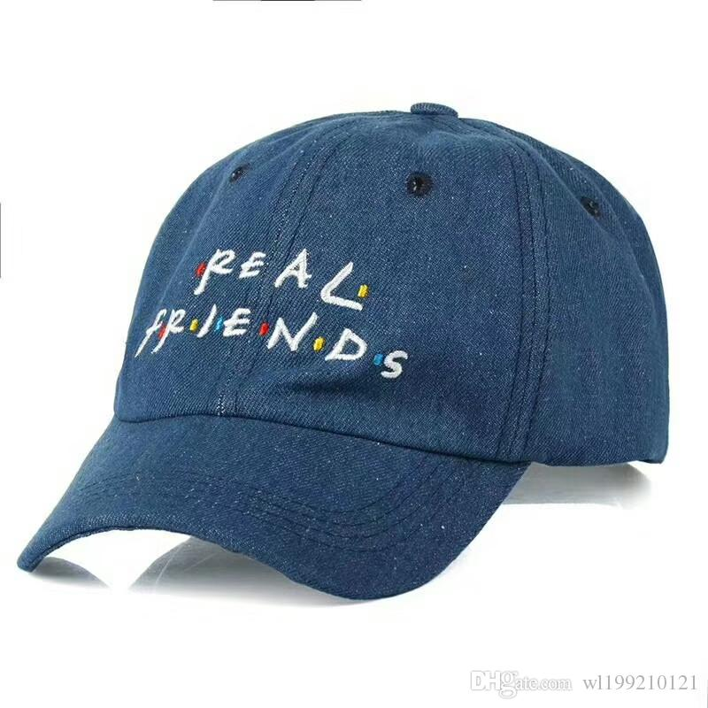9ee29f22ee8 2018Brand Real Friends Hat Trending Rare Baseball Cap I Feel Like Pablo Snapback  Cap Kanye Tumblr Hip Hop Dad Hat Men And Women Millinery Richardson Hats ...