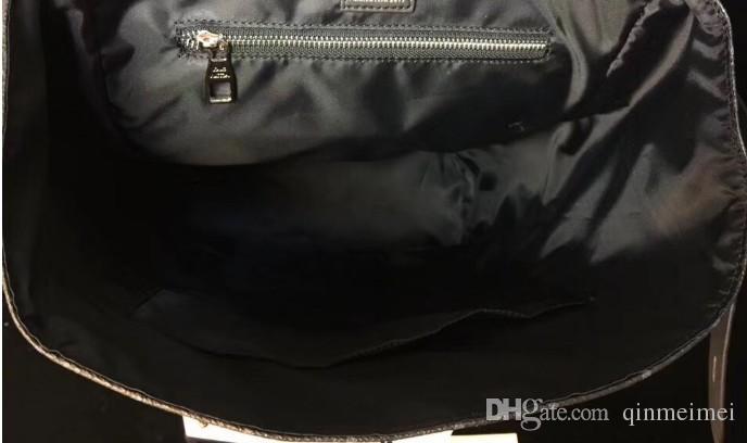 2018 NEW классического MEN WOMENS STEAMER Альпинизм рюкзак с ключом замок Черного цветком качества человека верхней кожей дорожной сумкой