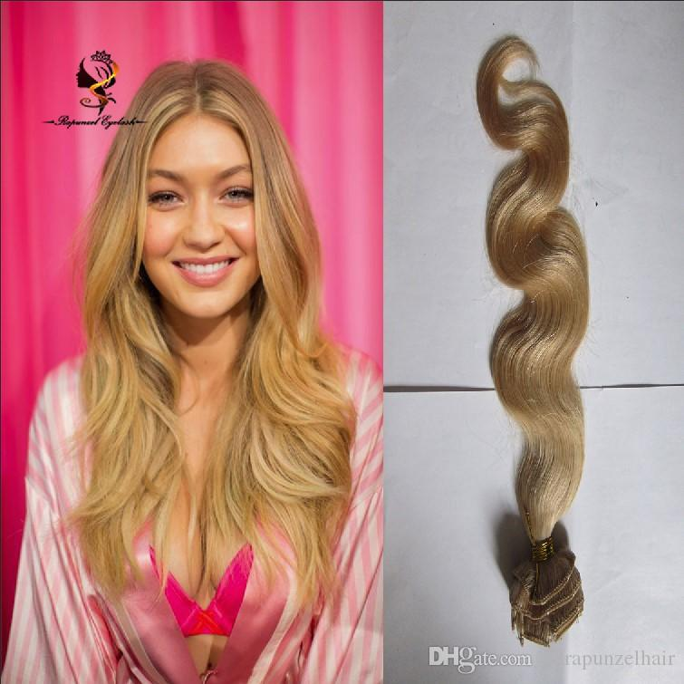Clip In Hair Extension Human Human Hair Clip In Extensions Body Wave