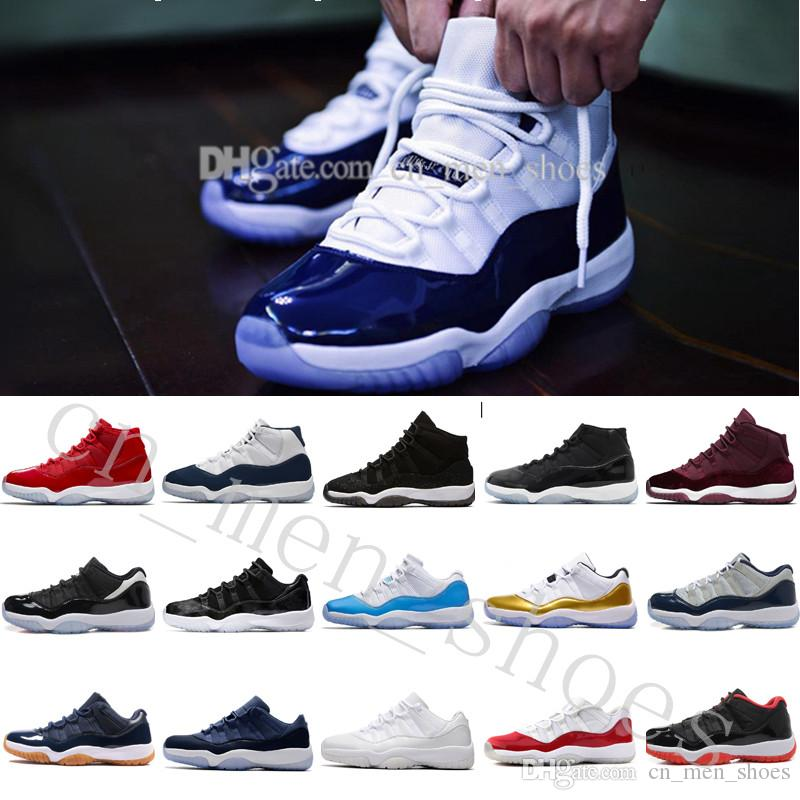 514ba176dbbc7 2018 Cheap New 11 11s Space Jam 45 Men Basketball Shoes Top Quality 11  Space Jams 45 Sports Sneakers Women With Shoe Box US 5.5 13 Eur 36 47  Basketball Mens ...
