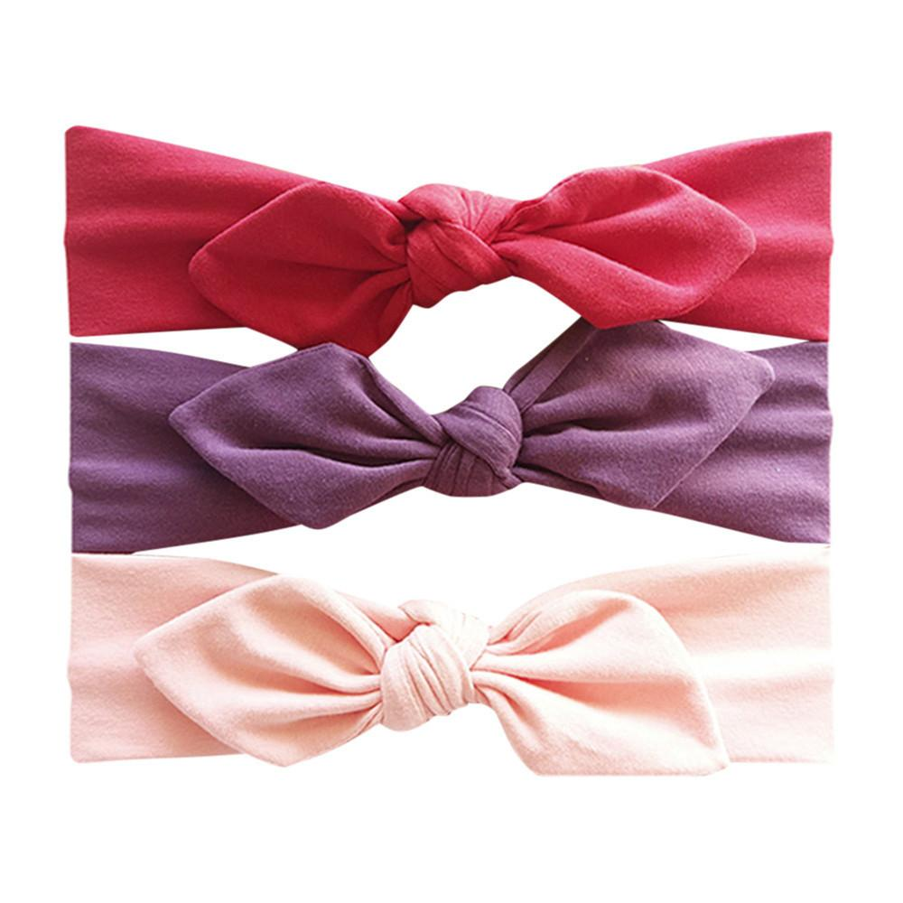 Hit Color Headwear Kids Floral Headband Girls Baby Elastic Bowknot Best  Selling AccessoriesOutfits 1 2years Hairband Set Hair Accessories For Little  Girls ... 4b5d1b2719a5