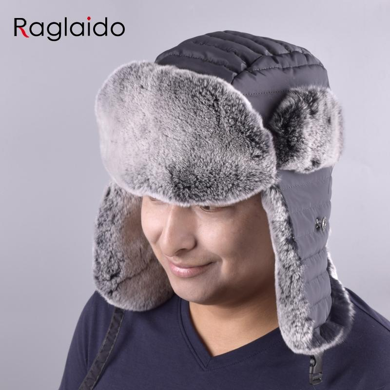 751925c6b6c 2019 Raglaido Ear Flap Fur Hats Men S Ushanka Bomber Hats Winter Snow  Russian Hat Panama Aviator Hat LQ11200 From Raglaido