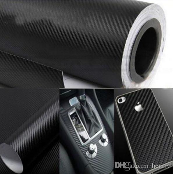 127CM*20CM 3D Color Modification Film Car Interior Whole Vehicle Color Change Paste Carbon Fiber Color Change Sticker