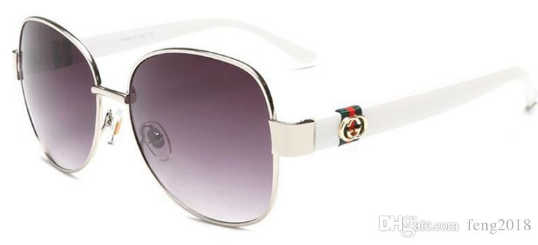 Optische Runde Metall Sonnenbrille Steampunk Männer Frauen Mode Brille Marke Designer Retro Vintage Sunglasses4242
