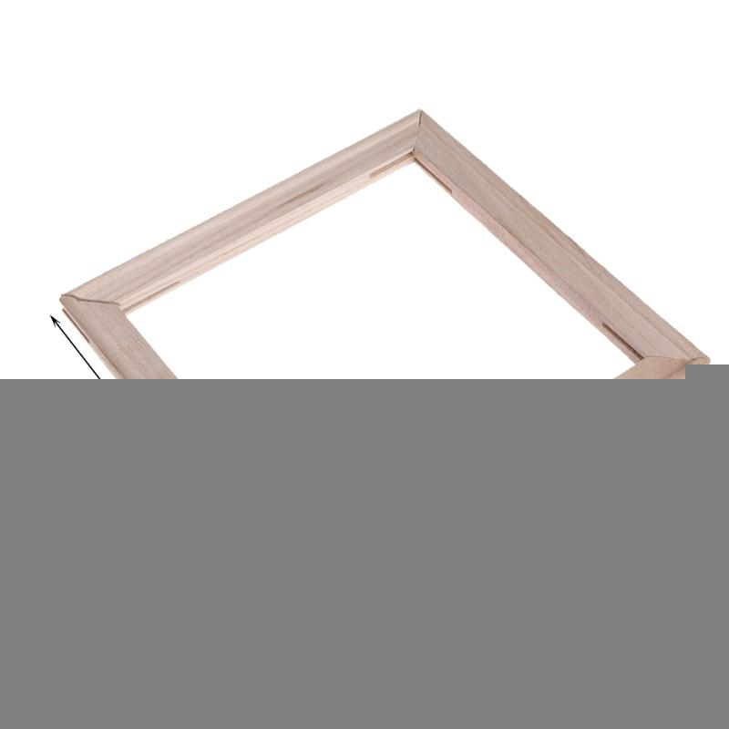2018 Wood Stretcher Strip Bar Frame For Canvas Painting Art Gallery ...