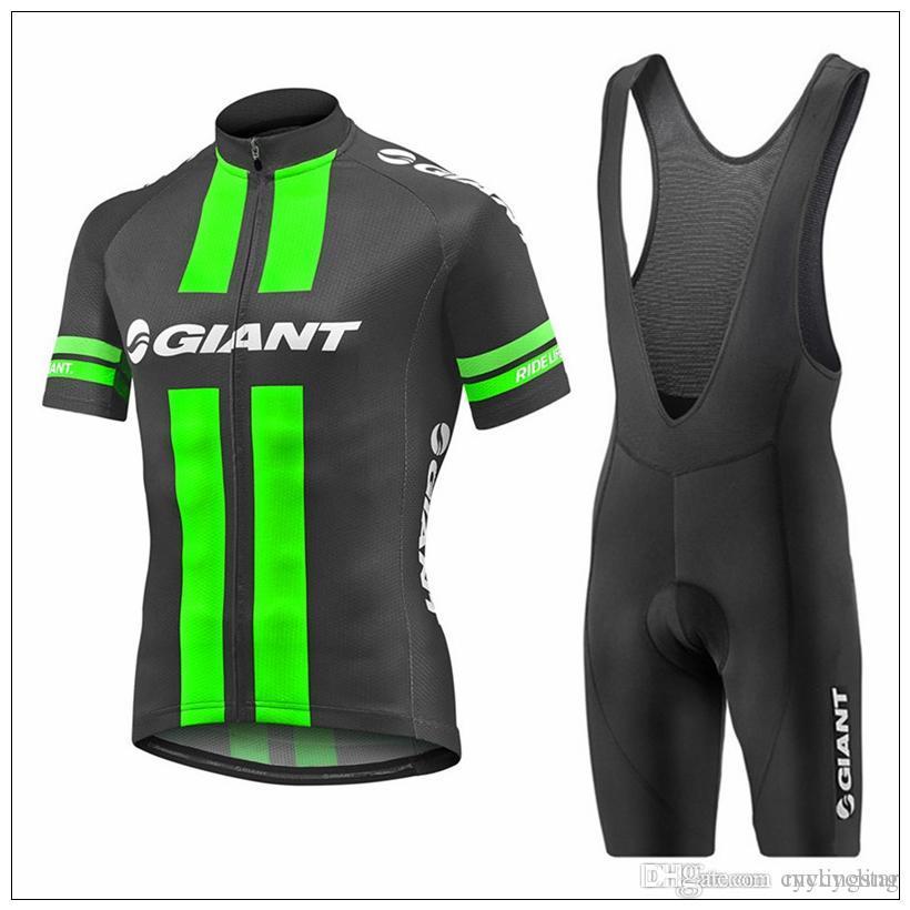 Giant Men Summer Cycling Jerseys Breathable Short Sleeve Ropa Ciclismo  Mountain Bike Clothing Bike Shirts+Gel Pad Bib Shorts Suit 82302Y Cycling  Jersey ... ff5ec1e6c