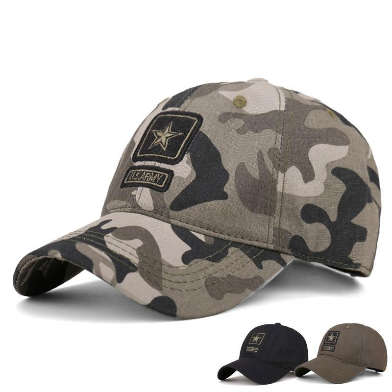 c7e7db4b8eb Tactical Baseball Cap Men Militar SWAT Camo Snapback Hats Outdoor Equipment  Casual Camouflage Hunter Work Cotton Hunt Truck Hats Baseball Caps For  Women ...