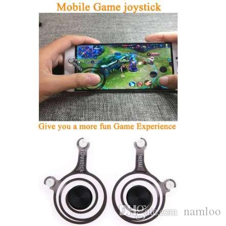 2Pcs/Set Dual Analog Mini Gamepads Joystick Smart Phone Touch Cell Phone Accessory Remote Game Control for Ipad Tablet