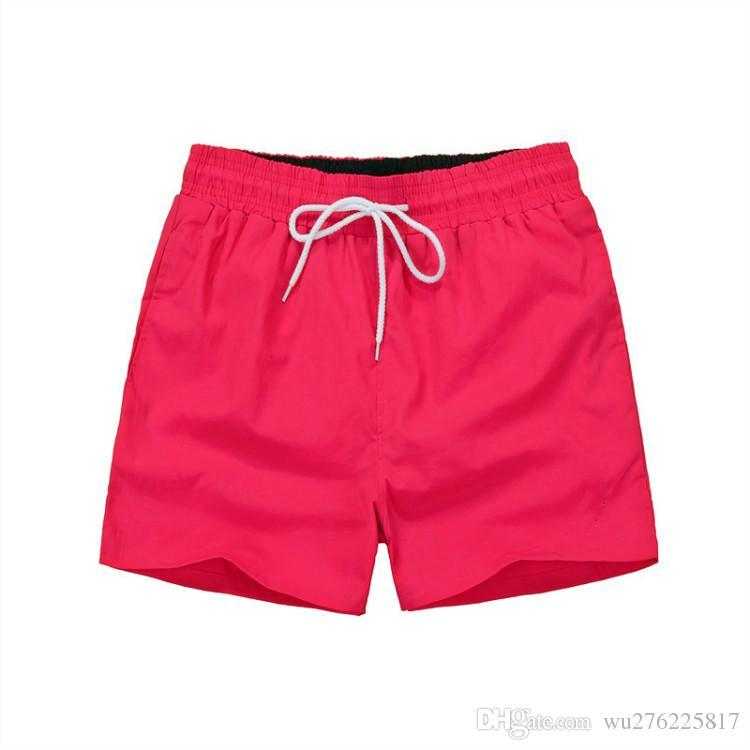 87b36db5bfd Wholesale-Summer Men Short Pants Brand Clothing Swimwear Nylon Men Brand Beach  Shorts Small Horse Swim Wear Board Shorts 2018 Shorts Polo Men s Shorts ...