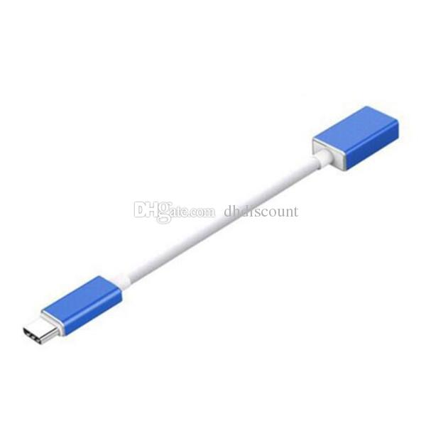 Type-C OTG Date Cable USB 3.1 3.0 Type C To Female OTG Cable Adapter Connector for Samsung & other samert phone