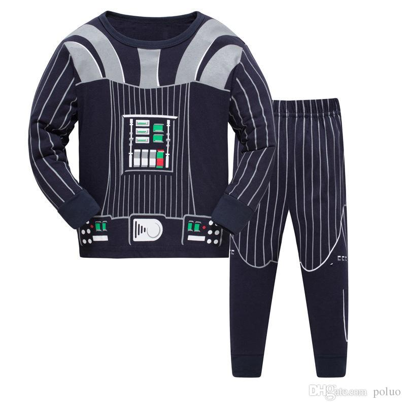 cdea4a44e Children Sports Clothes Set Baby Girl Pajamas Set Baby Boy Cotton ...