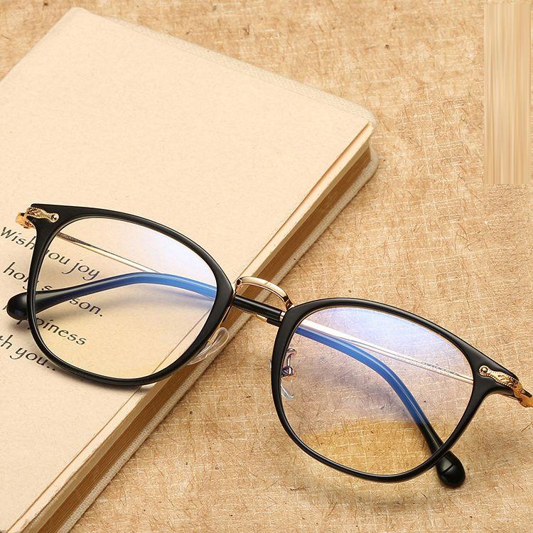 bd9cf8875a3 2019 2018 New Vintage Fashion Eyewear Frames Women Men Eye Glasses Frames  Optical Myopia Computer Female Ladies Men Spectacle Frame Eyeglass From  Mani13