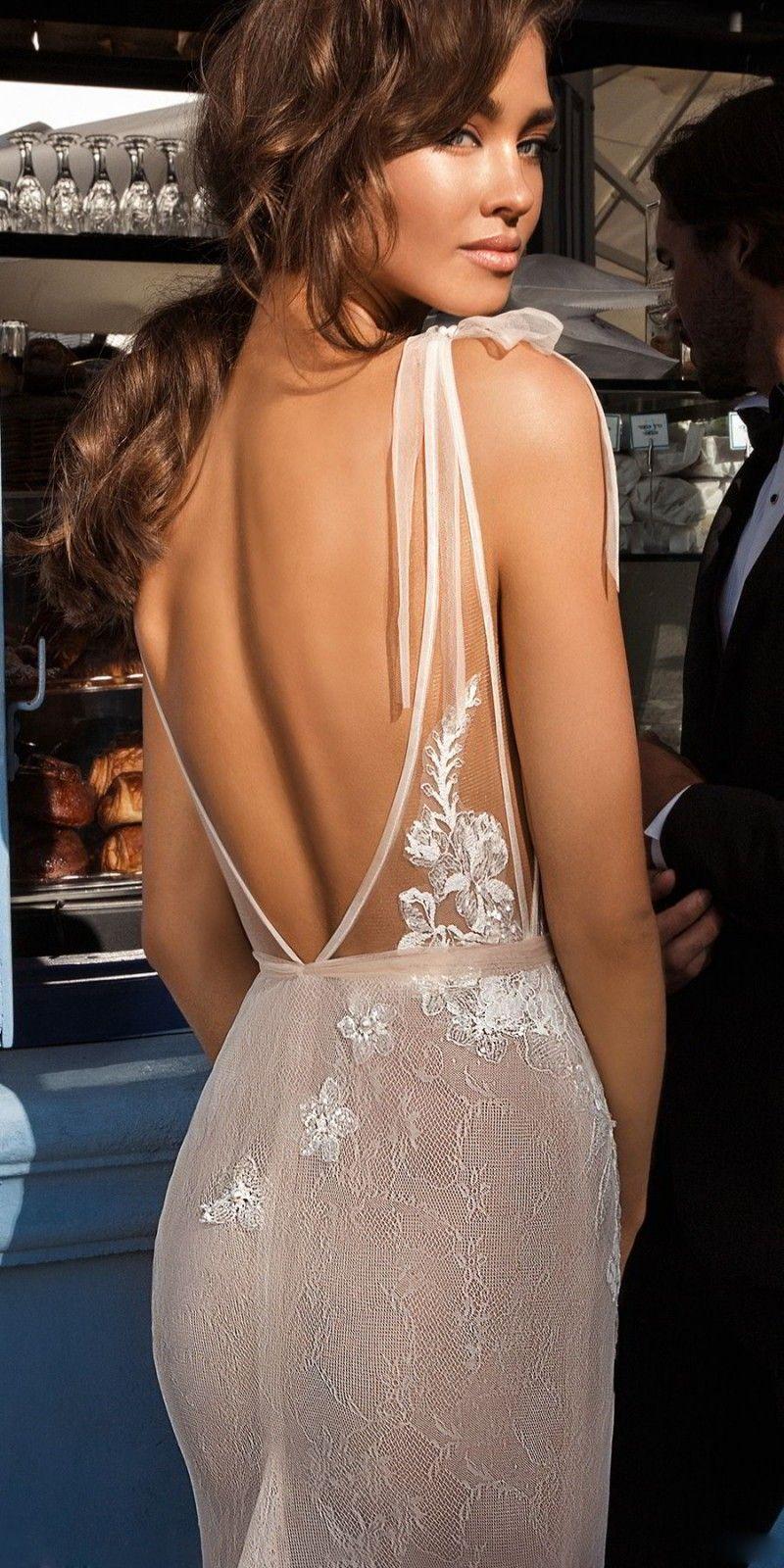 Sexy Desinger Robes De Mariée Sirène Avec Wrap 2018 Elihav Sasson Dos Nu Robes De Mariée Pleine Dentelle Appliqued Robe Robe De Noiva
