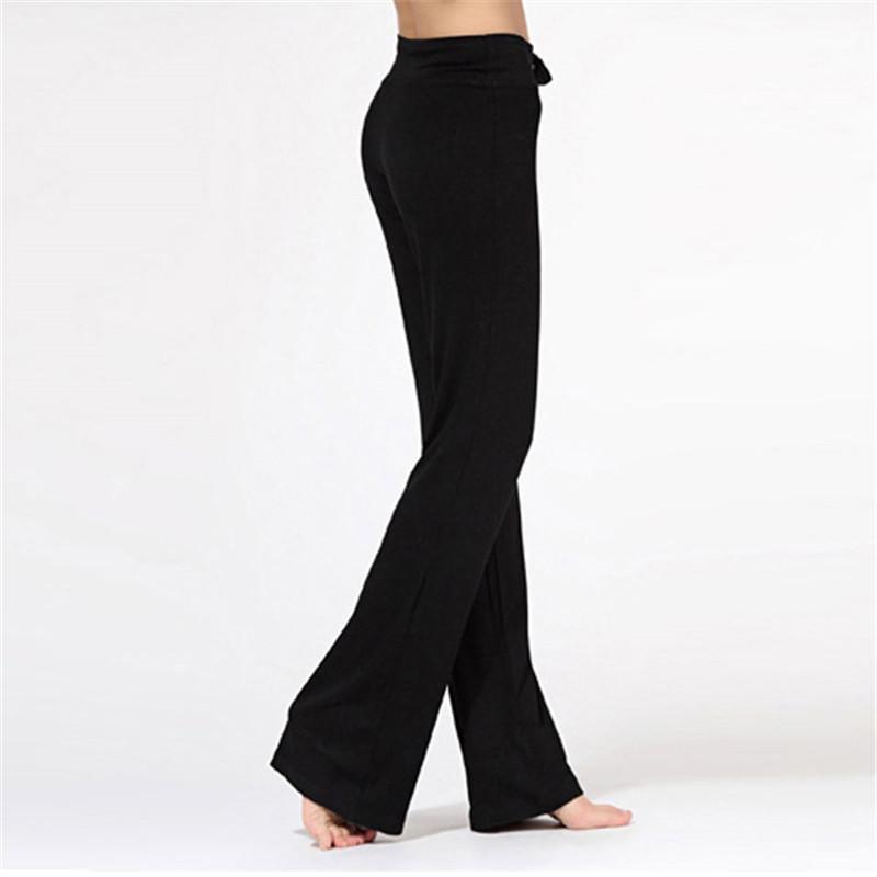 Женщины брюки Брюки хлопок практика брюки тренажерный зал тренировки плотва случайные длинные брюки
