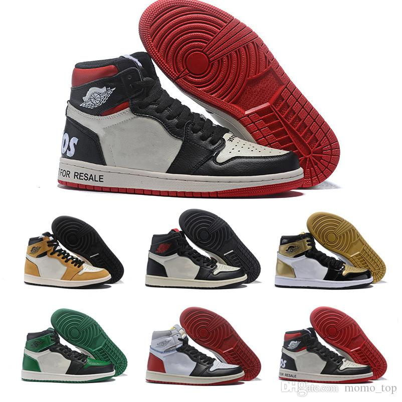 timeless design 7a87f 5eb1b 2019 1 High OG NRG No LS Pack 1S Sail Black-Varsity Red Black Toes  Basketball Shoes Mens Not For Resale Sports Sneakers With Box