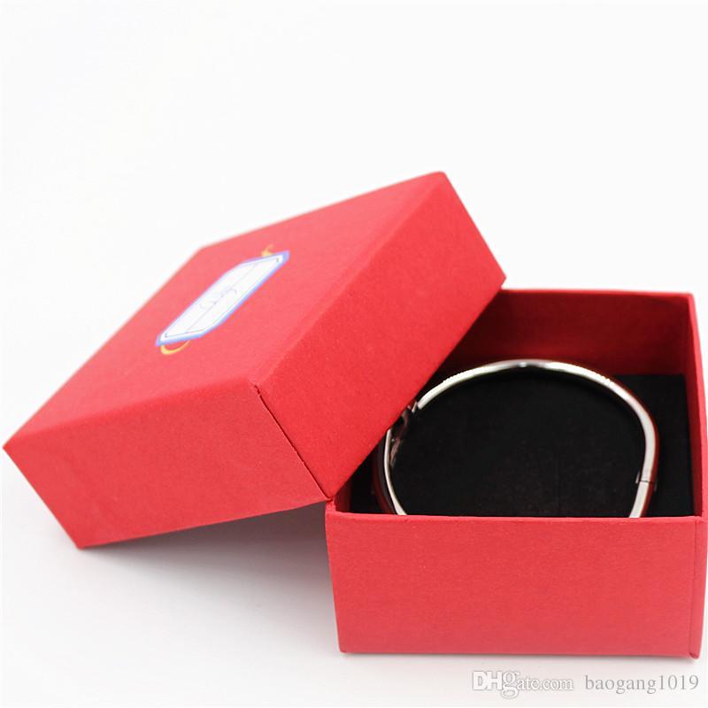 Envío gratis de calidad superior marca pulseras de uñas brazaletes con piedras de plata brazaletes de acero inoxidable brazaletes joyería YX024