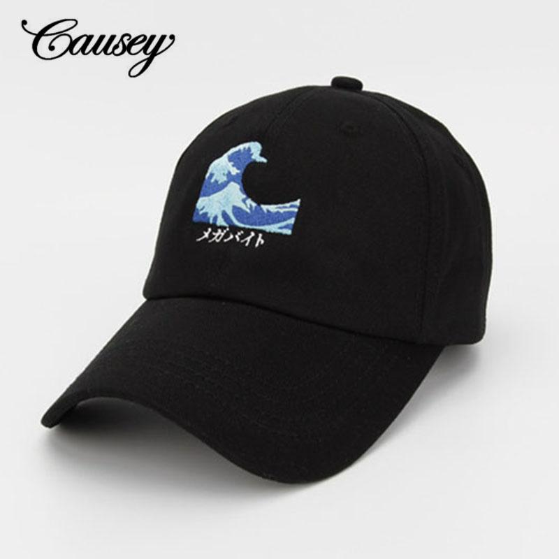 92f00d56 2018 New Men Women Good Vibes Dad Hat Embroidered Baseball Cap Curved Bill  100% Cotton Casquette Brand Bone Fashion Hats Flat Brim Hats Baby Cap From  ...