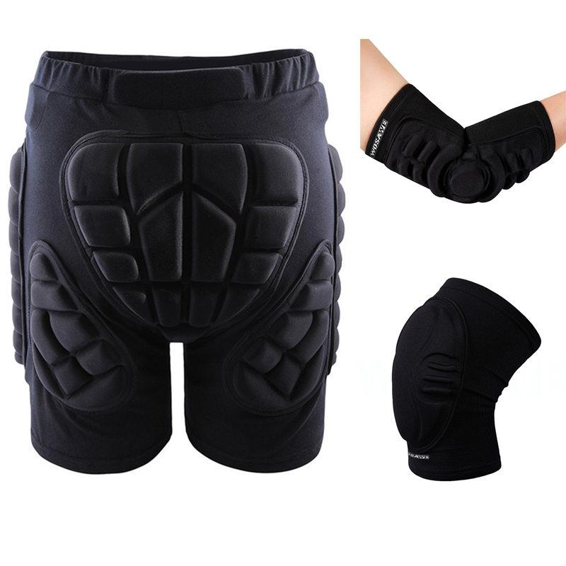 600744b176060 Outdoor Sports Protective Hip Pad Knee Elbow Pads Wrist Palm Support ...