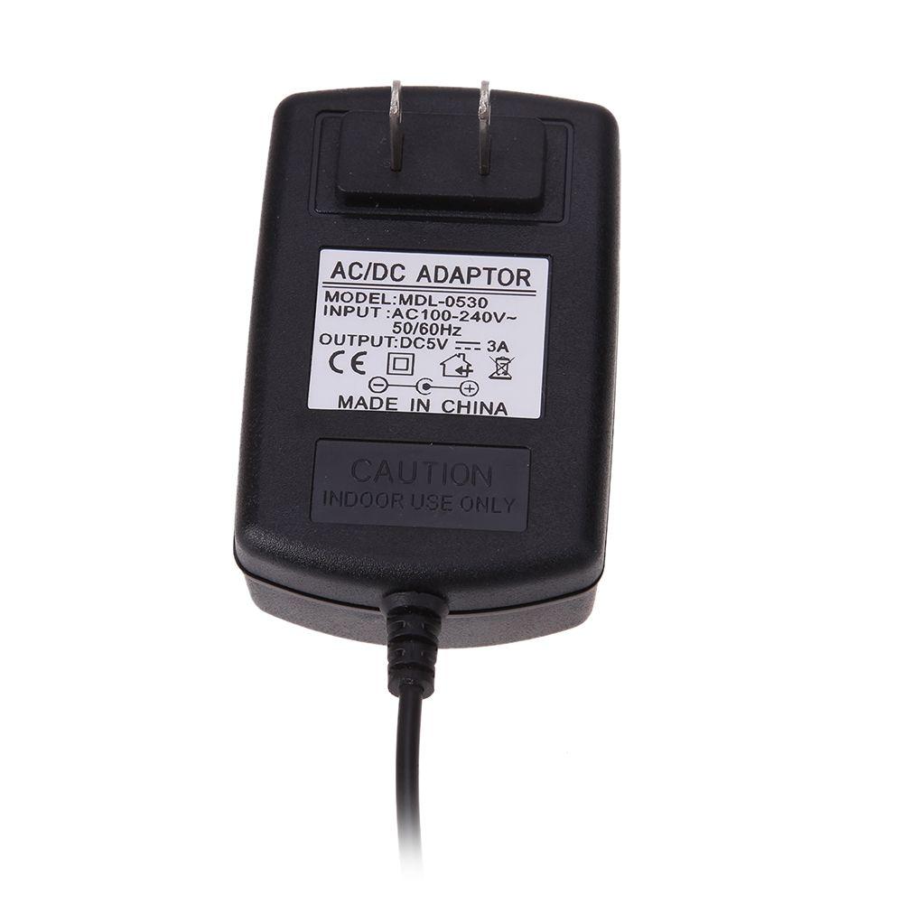 US Plug Adattatore di alimentazione Micro USB da CA a CC 5 V 3A Windows Tablet Android