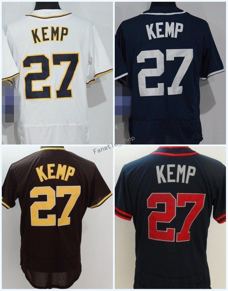 Großhandel 2018 Flexbase San Diego # 27 Matt Kemp Home Away Jersey ...
