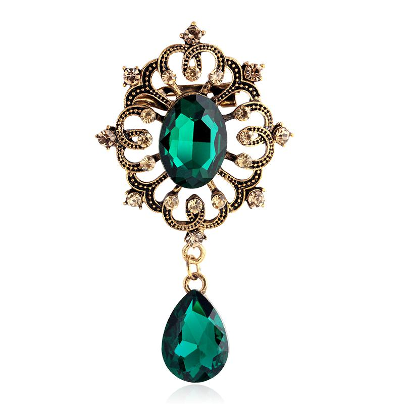 style de mode haut de gamme véritable en ligne ici Acheter Mode Bijoux Vintage Broche Broches De Luxe Pas Cher ...
