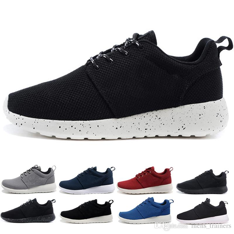 the latest 5bf87 47818 Acquista Nike Air Roshe Run One Comoda Scarpa Sportiva Saldi Breve Scarpe  Uomo Donna Sport Running London Olympic 1.0 Runs Scarpe Sneakers 36 46  Spedizione ...