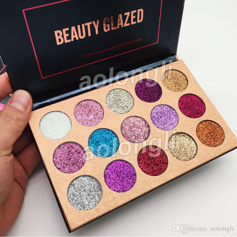Best Beauty Glazed Glitter Eyeshadow Palette Eye Shadow Palette Makeup Ultra Shimmer Face Cosmetics