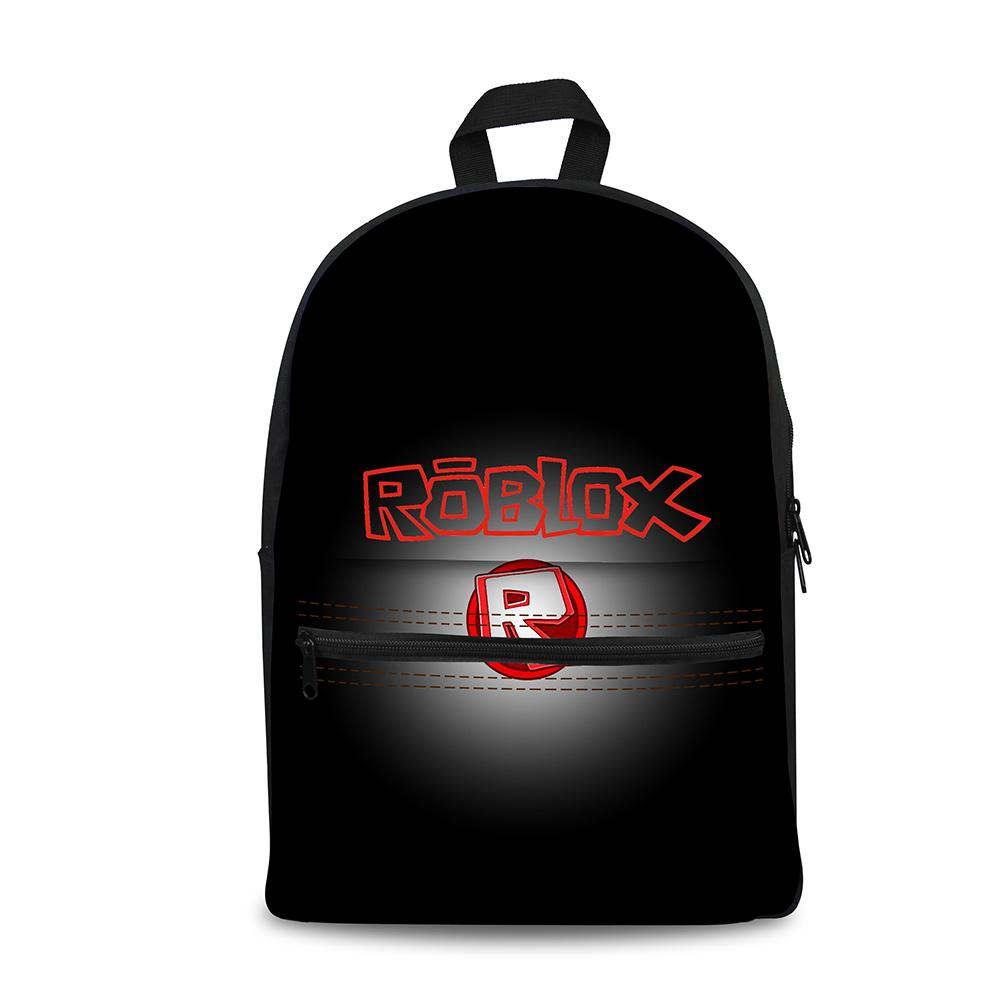 5a7d221d1a0 ... Backpack Roblox Games Pattern Printed Knapsack Laptop Travel Bags For  School  Roblox Games Rugzak School Bags Boys Girls Backpacks School Supplies  ...