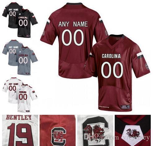Custom South Carolina Gamecocks NCAA SEC Carolina College Football Jerseys  Personalized Stitched Any Name Number Jake Bentley Jersey UK 2019 From  Vicjersey 4743614c9
