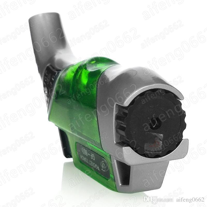 미니 가벼운 도매 방풍 토치 사용 흡연을 위해 라이터를 사용하여 부탄 가스 제트 화염 담배를 반복