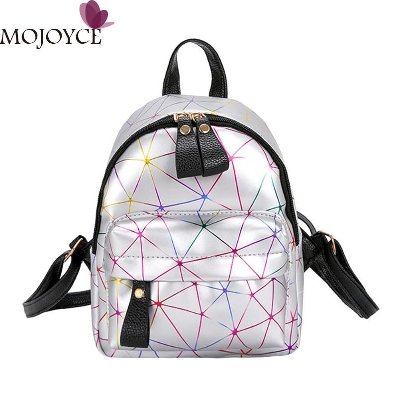 b8a681aad8c2 Women Mini Backpack Shoulder Bag PU Leather Backpack Female Girls ...