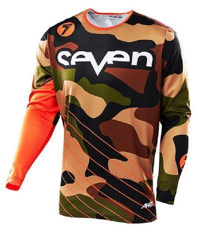 Seven Motocross Jersey Downhill Camiseta Ropa Mtb Fox Mountain Bike ... 07a81c7e9