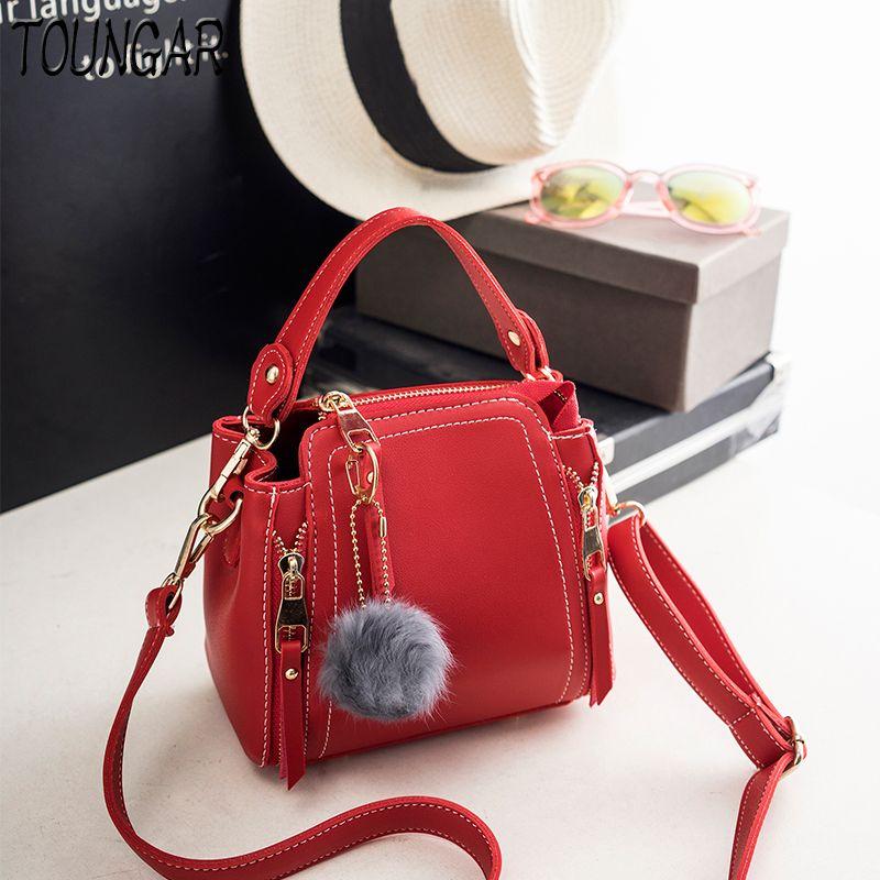 10f2ec8dc5f TOUNGAR Mini Women CrossBody Bag Fashion Women Bucket Tote Handbag ...