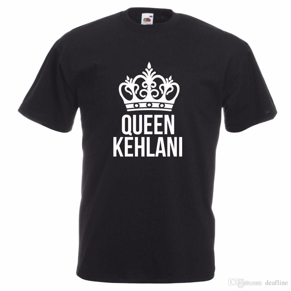 Newest 2018 Queen Kelani T-shirt Singer Songwriter Dancer R&B Hip Hop  Neo-Soul Pop Music Print Summer Tops Tees