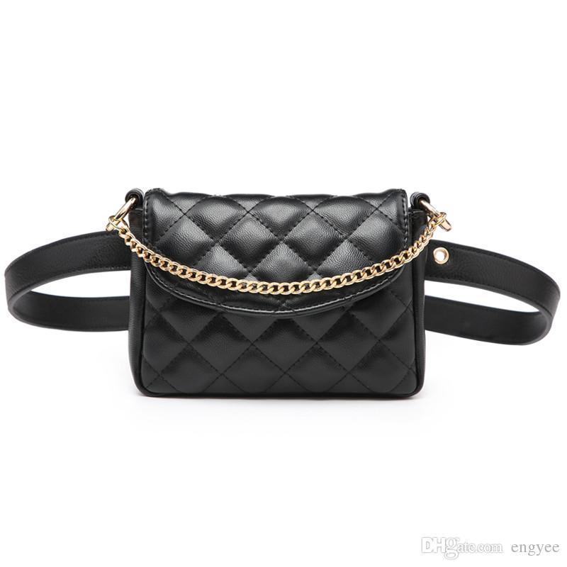 fd8b92f97087 Stylish Ladies Fanny Pack Korea Waist Bag Hip Women 2018 Fashion Waist Belt  Pouch Bag Female Leather Luxury Waist Pack Ladies Fanny Pack Waist Purse  Women ...
