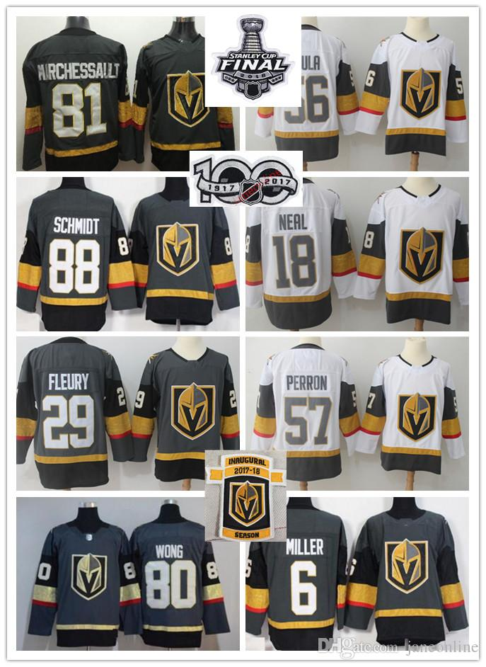 03d3fb53157 ... home authentic usa flag stitched youth nhl jersey 9095c 6f874; usa 2018  2018 final vegas golden knights jersey marc andre fleury 18 james neal 56  haula