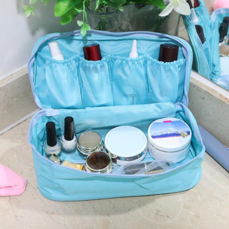 8be952e6941d Travel Necessity Accessories Women s Storage Bag For Underwear Clothes  Lingerie Bra Organizer Cosmetic Pouch Suitcase Case New
