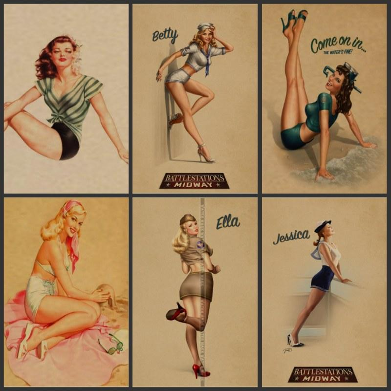 Sexy pin up girls congratulate, what