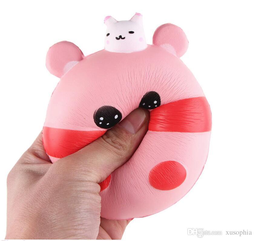 Yumuşacık Oyuncaklar PU Fidget Küçük Tavşan Domuz Tarzı Yavaş Yükselen Oyuncak Dekompresyon Oyuncaklar MCT 013