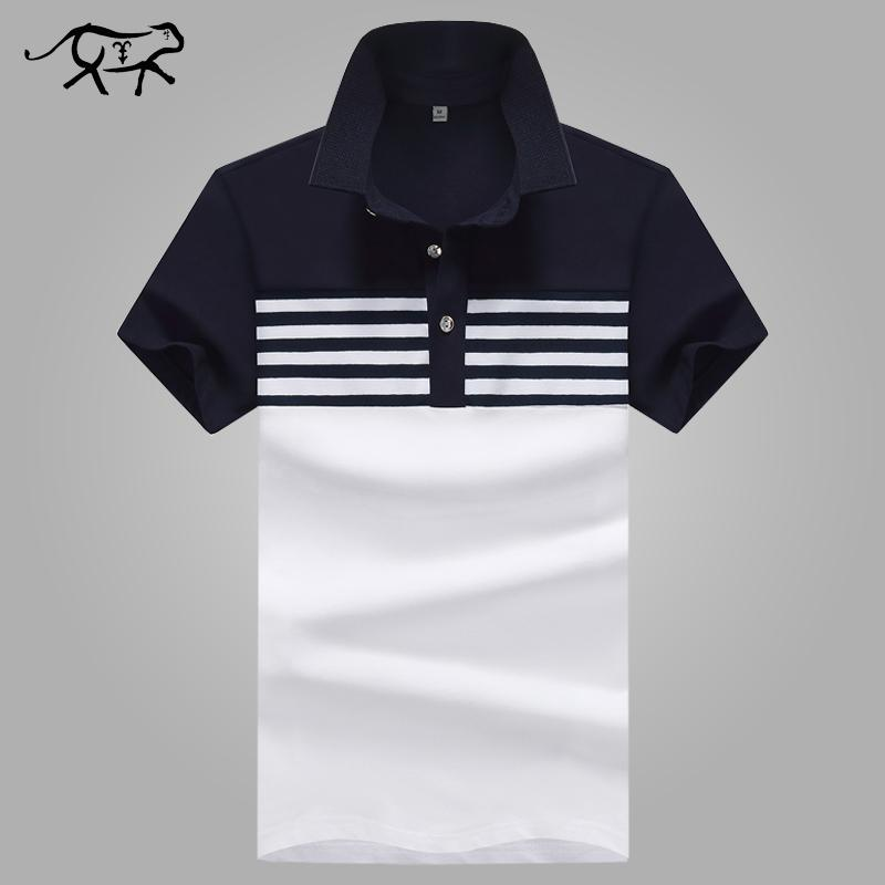 aa93b9c89ea 2019 New 2018 Brand Polo Shirt Men Cotton Fashion Patchwork Camisa Polo Men  Summer Short Sleeve Casual Lapel Men  S Shirts Jerseys 4xl From Netecool