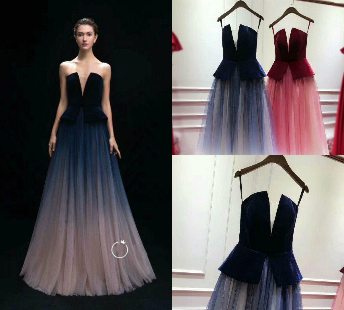 2019 Straplez Elbise Modelleri