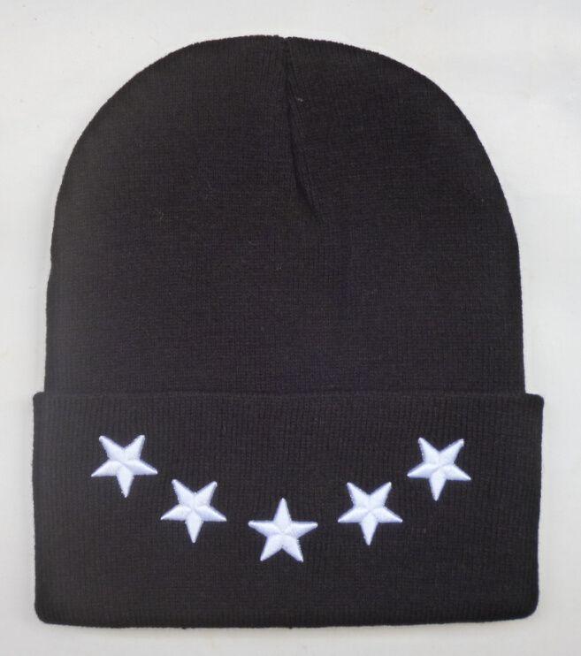 Nueva llegada Compton Pyrex 23 Alumni tha últimos reyes Estrellas gorrita sombreros hip hop cara de lana de invierno sombrero sonrisa de punto casquillos calientes para hombres mujeres