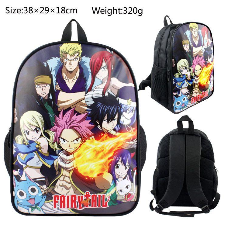 6d62e3817d Großhandel Fairy Tail Rucksack Anime Teenager Jungen Mädchen Buch Tasche  Kinder Schultaschen Frauen Laptop Rucksack Geschenk Reisetasche Von  Penbake, ...