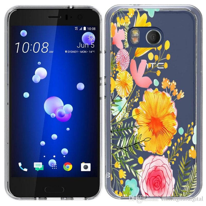Acrylic Transparent Colorured Case For ZTE Z max pro 2 Z982 LG Aristo 2 X210 TPU PC cheap price Back cover Shell